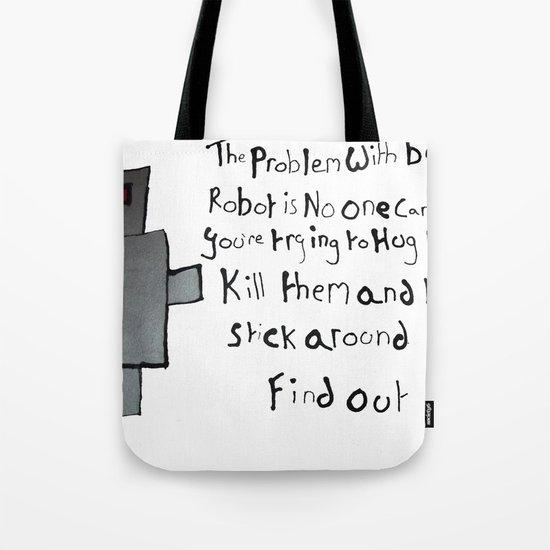 Robot Problems Tote Bag