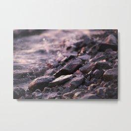 River Rocks I Metal Print