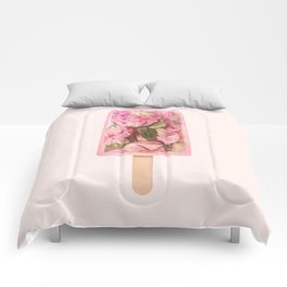FLORAL POPSICLE Comforters