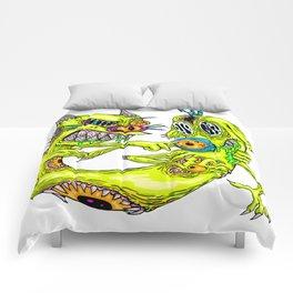 Cat Monster Dog Comforters