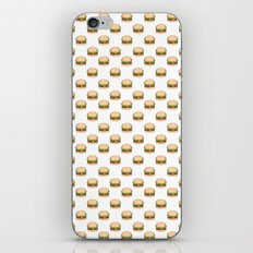 Cheeseburger Pattern iPhone & iPod Skin