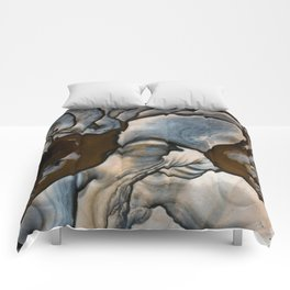 Earth treasures - jaspis patterns Comforters