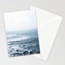 Ocean Wave.Oregon Coast.West Coast.Blue Water.Water Texture.Sea.PNW.Pacific Ocean. Stationery Cards