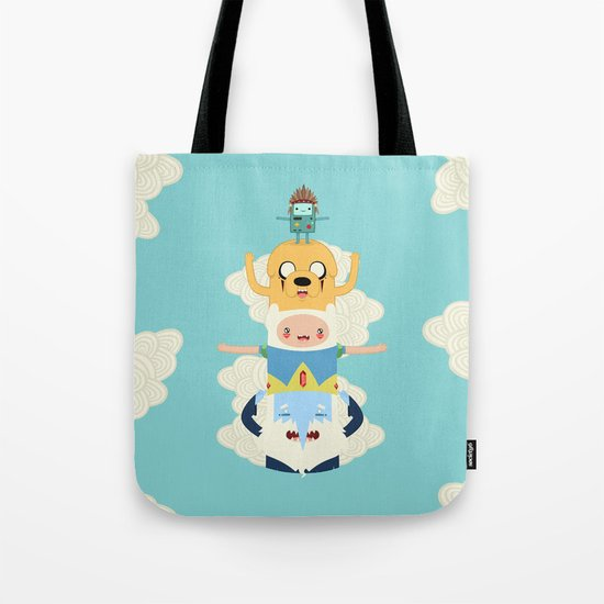 Adventure Totem Tote Bag
