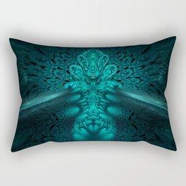 Genomorphic - Fractal Manipulation - Visionary Rectangular Pillow
