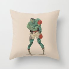 ...stings like a bee! Throw Pillow