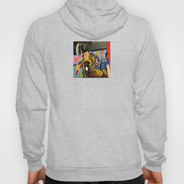 Circus Juice (oil on canvas) Hoody