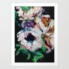 Blurred Vision Series - Ranunculus Bouqet No. 1 Art Print