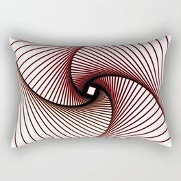 Twister Line art Rectangular Pillow