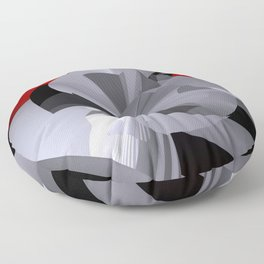 polynomial and opart -50- Floor Pillow
