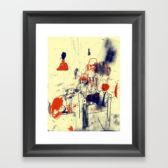 Oh Frank you did it again Framed Art Print