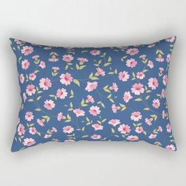 Flower samless pattern. Rectangular Pillow
