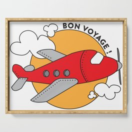 Bon Voyage Serving Tray