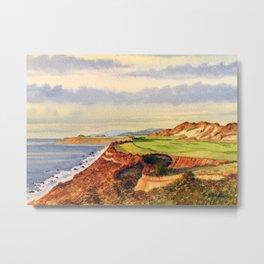 Bandon Dunes Golf Course 13th Hole Metal Print