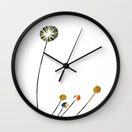 Style Blossoms Wall Clock