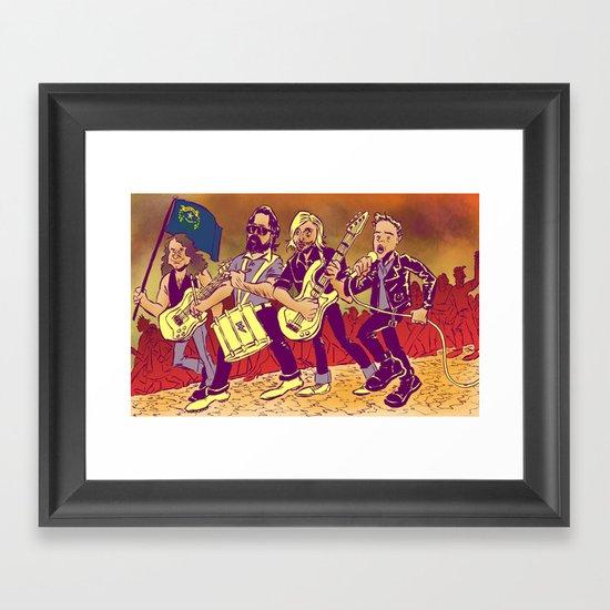 """Battle Born"" by Dmitri Jackson Framed Art Print"