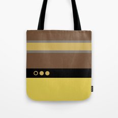 Geordie La Forge - Minimalist Star Trek TNG The Next Generation - 1701 D startrek Trektangles Tote Bag