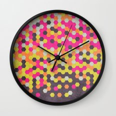 Honeycomb   Abyss Wall Clock