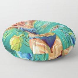 My home is the ocean Floor Pillow