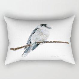 Gray Jay by Teresa Thompson Rectangular Pillow