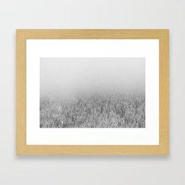 Snowy Day Framed Art Print