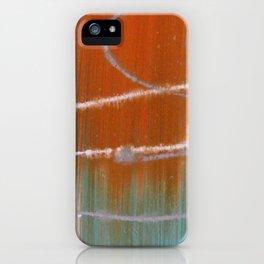 Antiqued Splatters iPhone Case