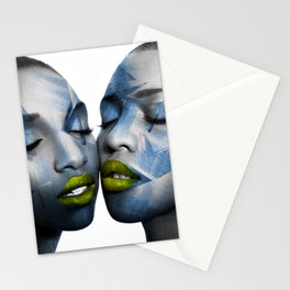 THE GIRL TWINS Stationery Cards