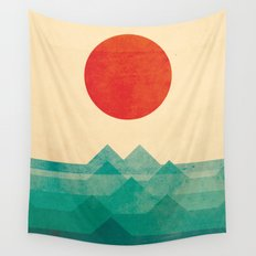 The ocean, the sea, the wave Wall Tapestry