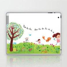 Skipping Laptop & iPad Skin