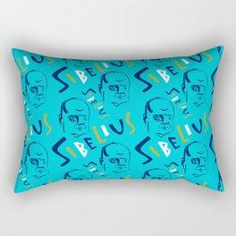 Jean Sibelius (3) Rectangular Pillow
