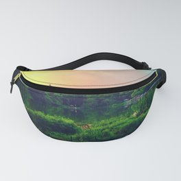 Daydream in central park Fanny Pack