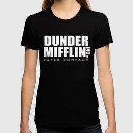 Dunder Mifflin (White) - the Office T-shirt