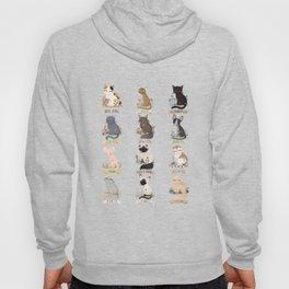 Cats Breed Hoody