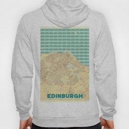 Edinburgh Map Retro Hoody