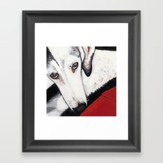 my little princess Framed Art Print