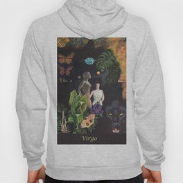 Virgo- Zodiac Wildlife Series Hoody
