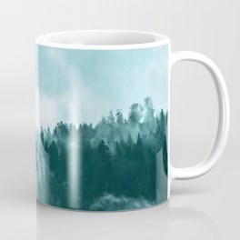 Clear away the fog to see the light. Turquoise Coffee Mug