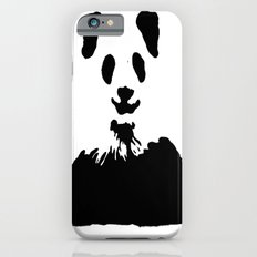 Pandas Blend into White Backgrounds iPhone 6s Slim Case