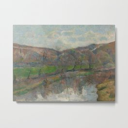 Brittany Landscape Metal Print