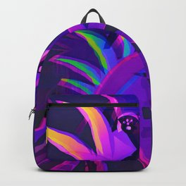 Tropical Sounds under Moon Light Backpack