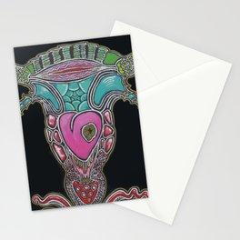 Fertility trip art Stationery Cards