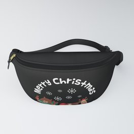 Merry Christmas design Funny Gift for Xmas Lovers Fanny Pack