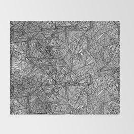 Pattern psychedelia Throw Blanket