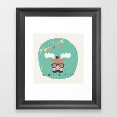 Monty Mouse Framed Art Print