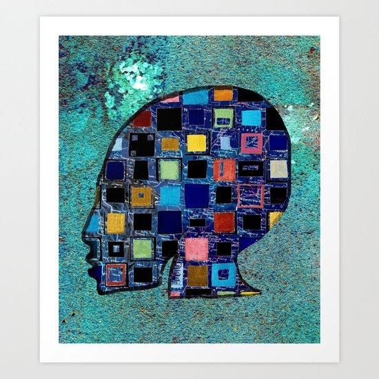 living in a box (global)4.Version Art Print