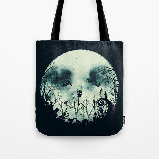 Halloween Town Tote Bag