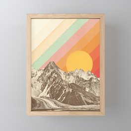 Mountainscape 1 Framed Mini Art Print