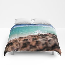 On The Rocks Comforters