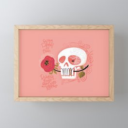 Beautiful Things Framed Mini Art Print