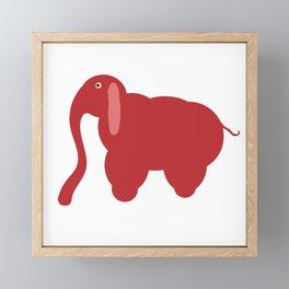 ELLIPHANT Framed Mini Art Print